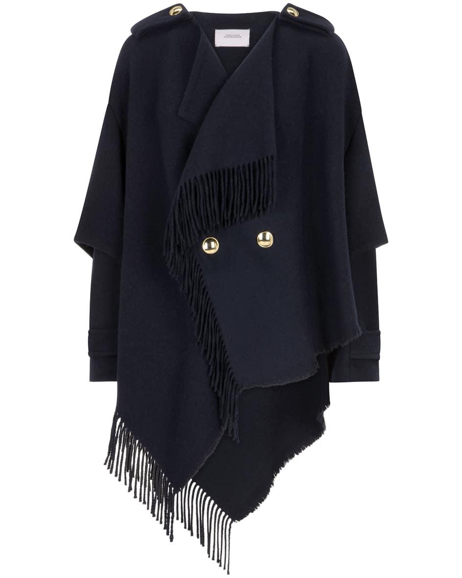 Colourful Fringecoat Jacke 36
