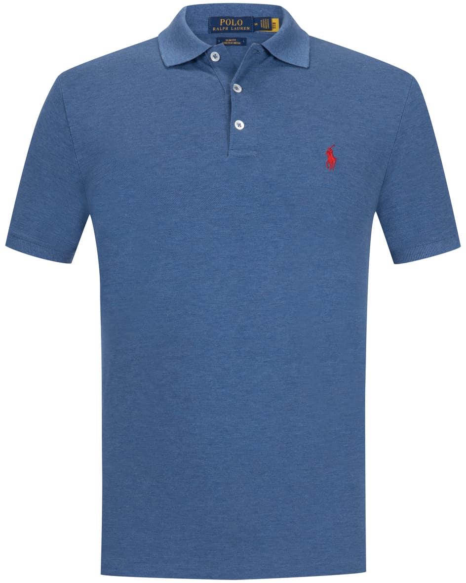 Polo-Shirt Slim Fit Stretch Mesh XL