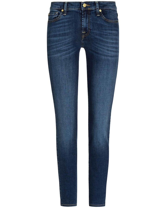 Hosen - 7 For All Mankind The Skinny Jeans Super Skinny  - Onlineshop Lodenfrey