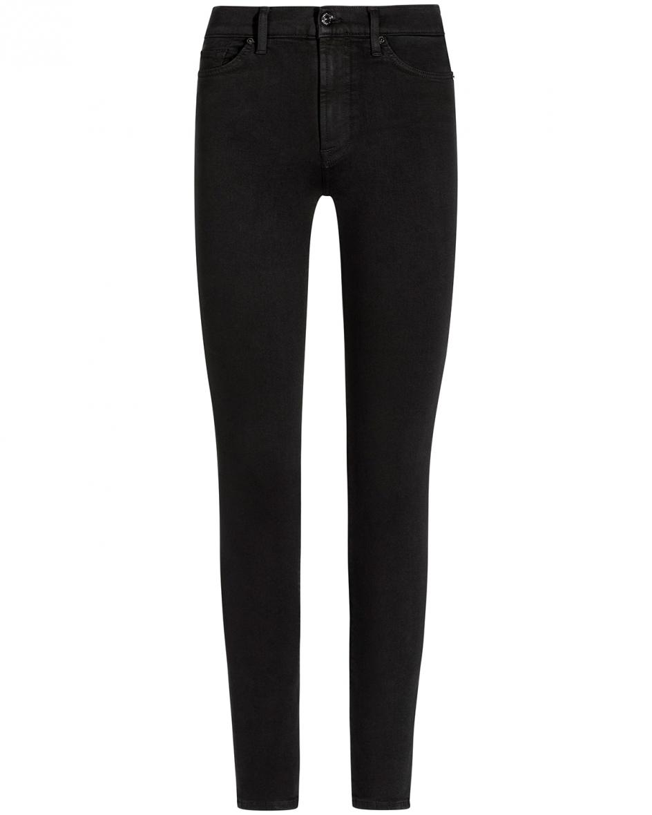 Hosen - 7 For All Mankind Skinny Jeans High Rise Slim Illusion Luxe  - Onlineshop Lodenfrey