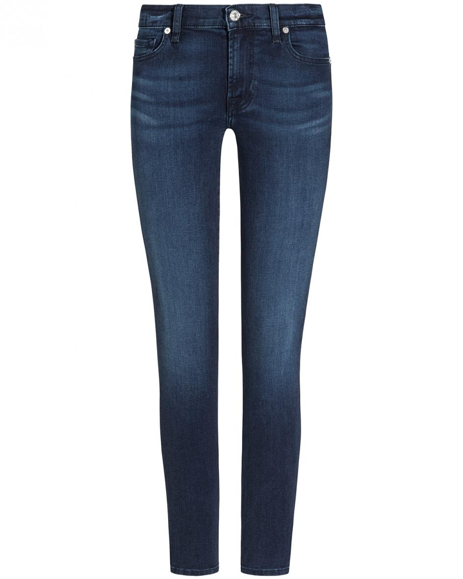Hosen - 7 For All Mankind The Skinny 7–8 Jeans Mid Rise Skinny Crop  - Onlineshop Lodenfrey