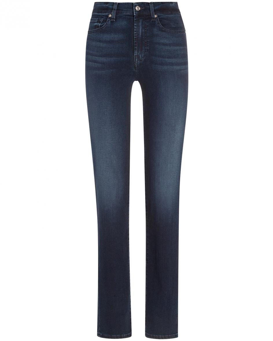 Hosen - 7 For All Mankind The Straight Jeans High Rise  - Onlineshop Lodenfrey