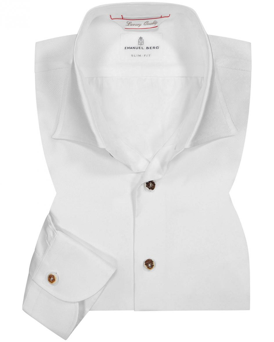 Trachtenhemd Slim Fit 43