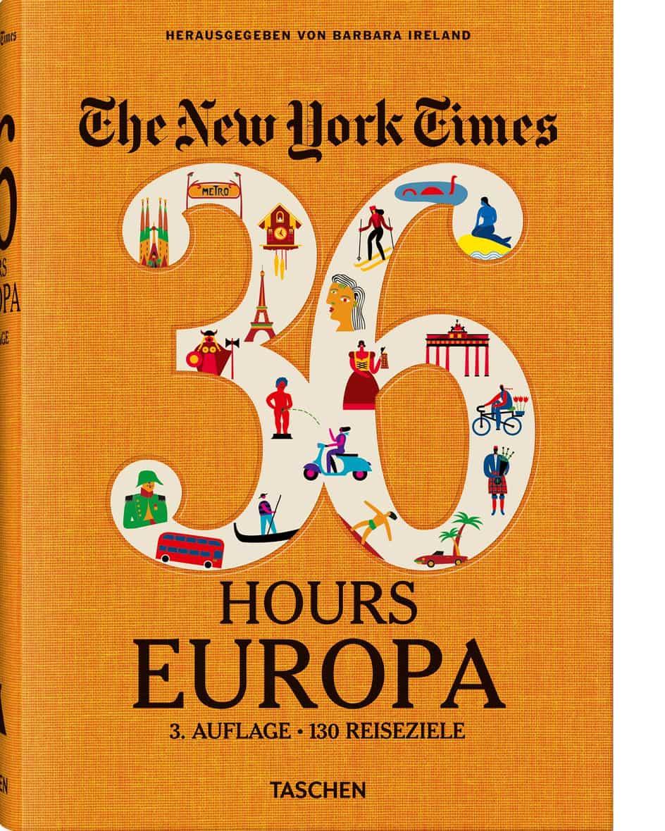 NYT – 36 Hours Europa Buch  Unisize