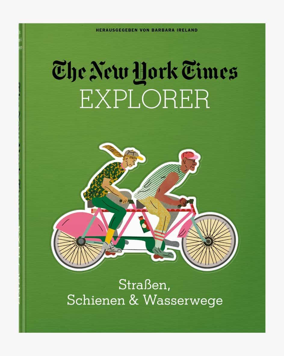 NYT – Explorer Straßen, Schienen und Wasserwege Buch  Unisize