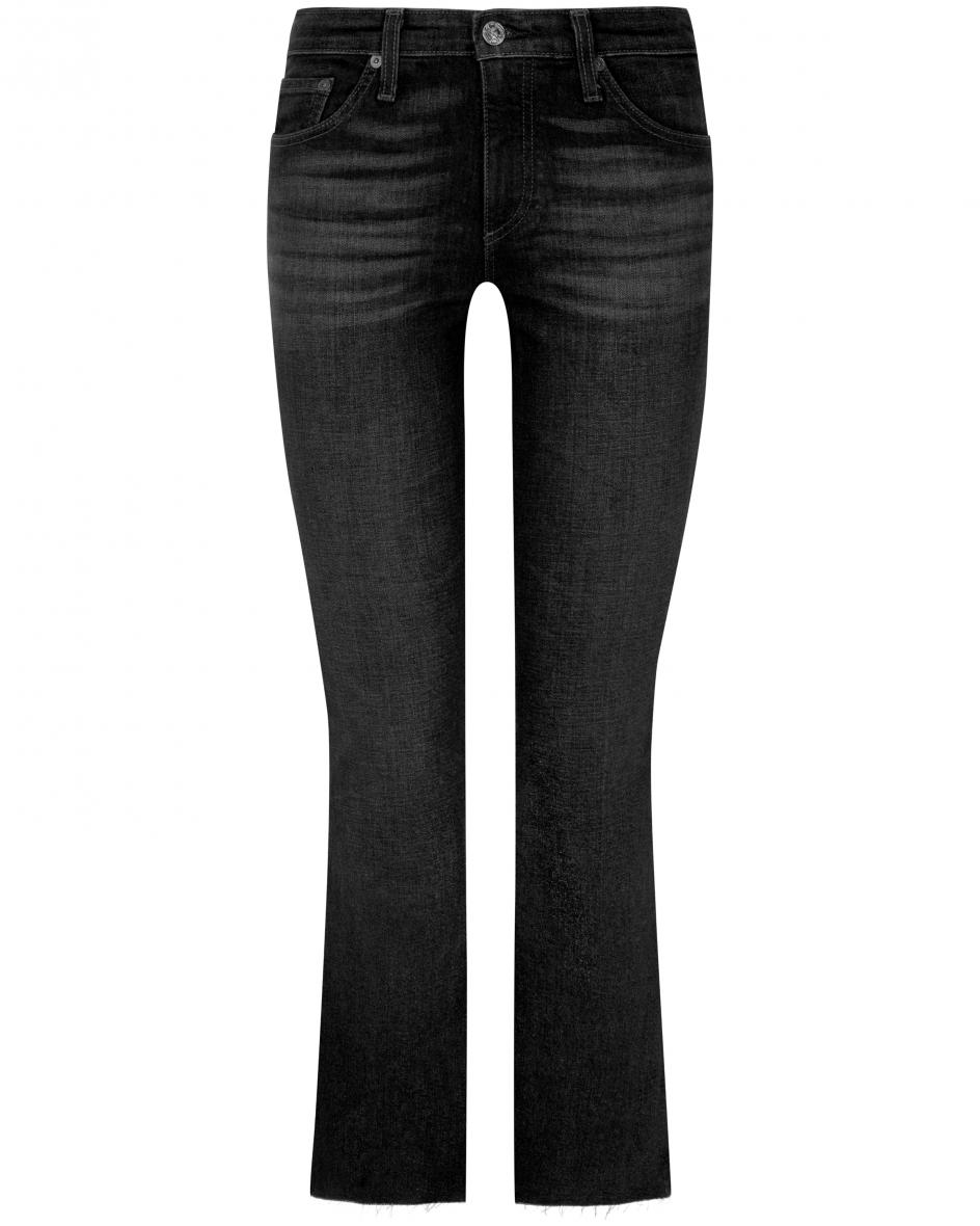 Hosen - AG Jeans Jodi Jeans High Rise Slim Flare Crop  - Onlineshop Lodenfrey