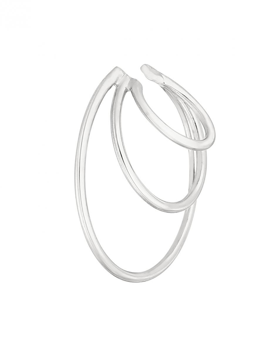 Triple Ring Earcuff