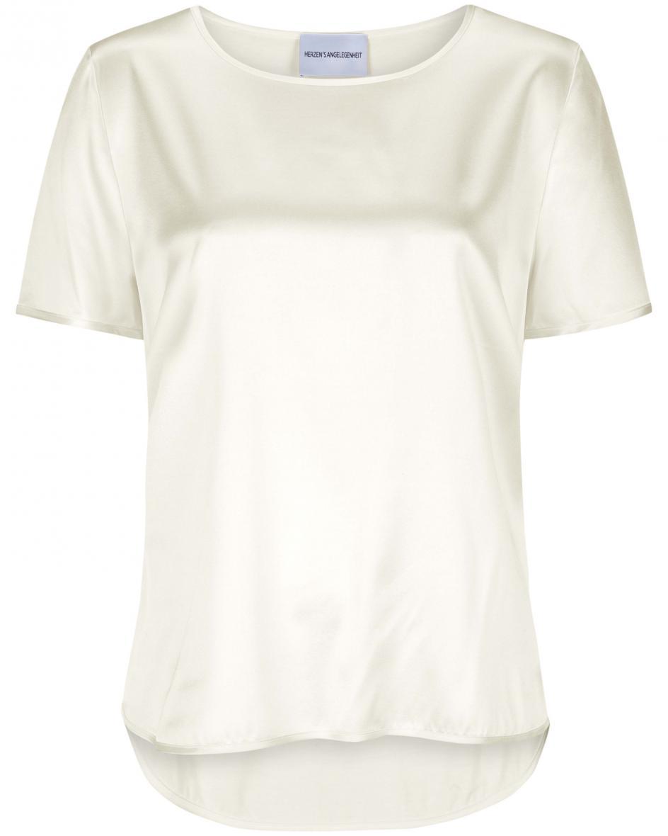 Seiden-Blusenshirt 36