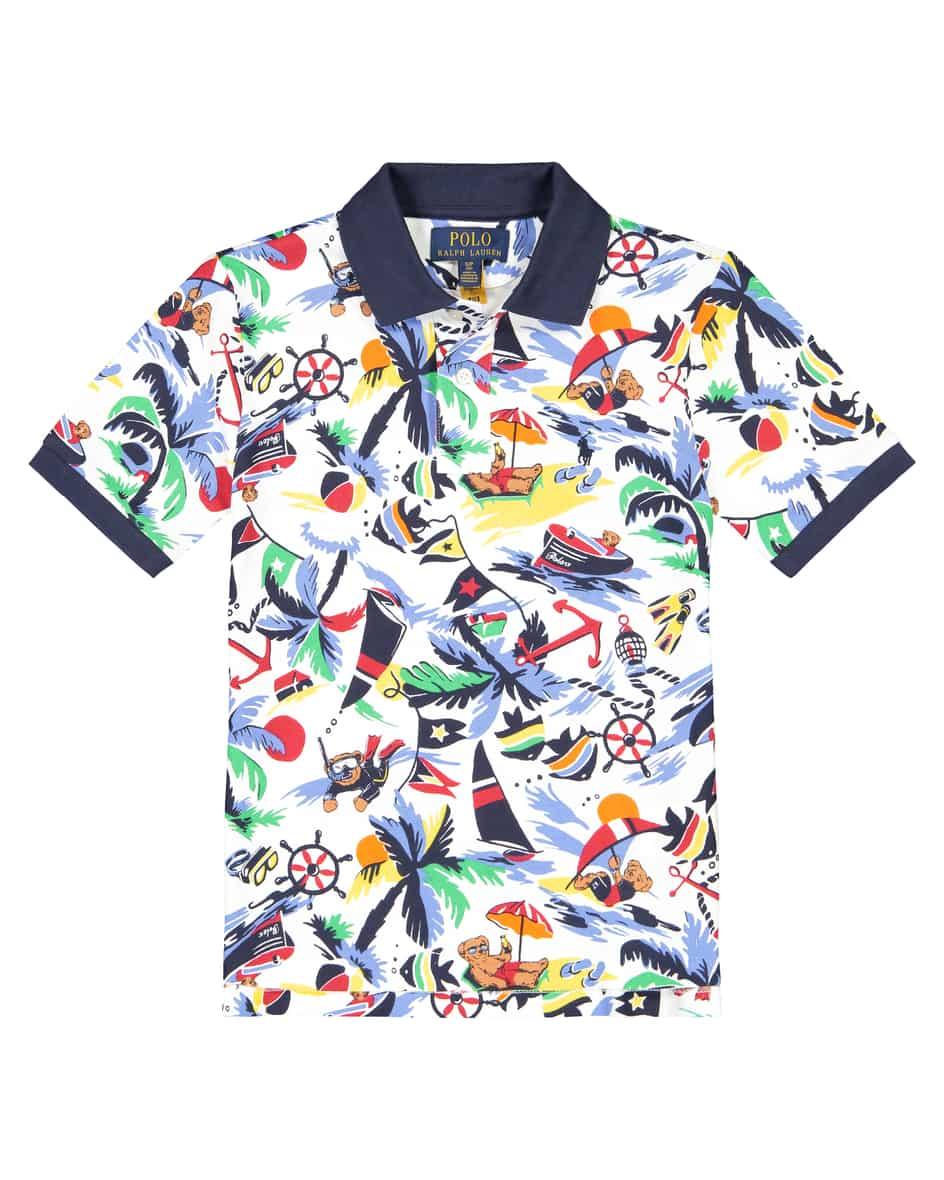 Jungen-Polo-Shirt M