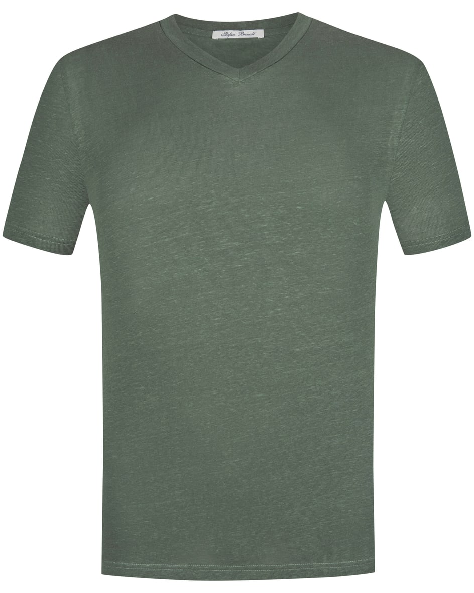 Adam Leinen-T-Shirt XXL