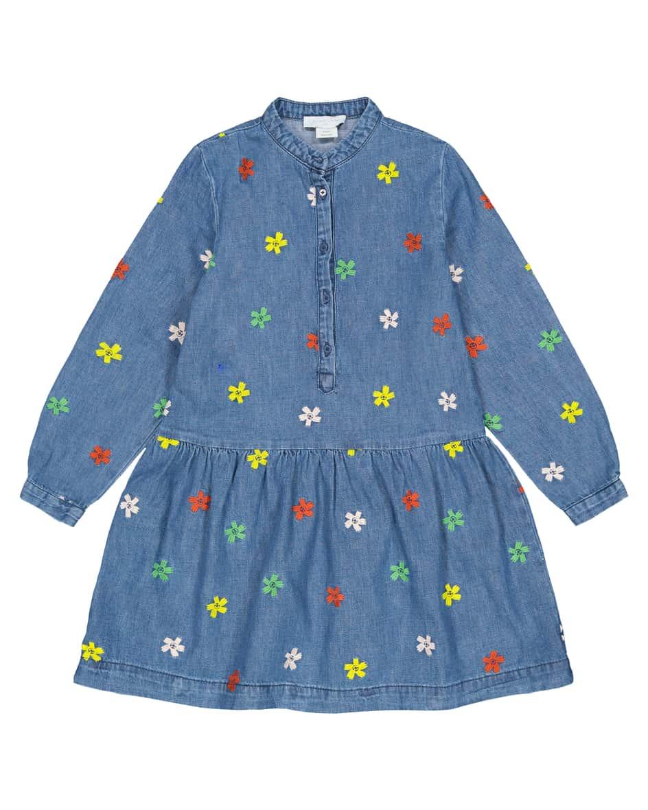 Mädchen-Jeanskleid 152