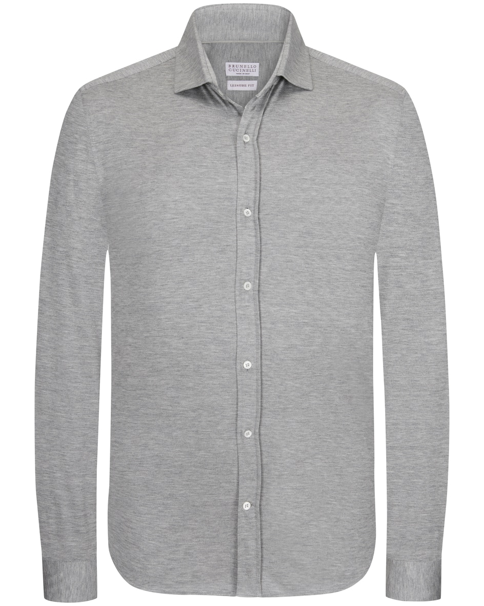 Jerseyhemd Slim Fit L