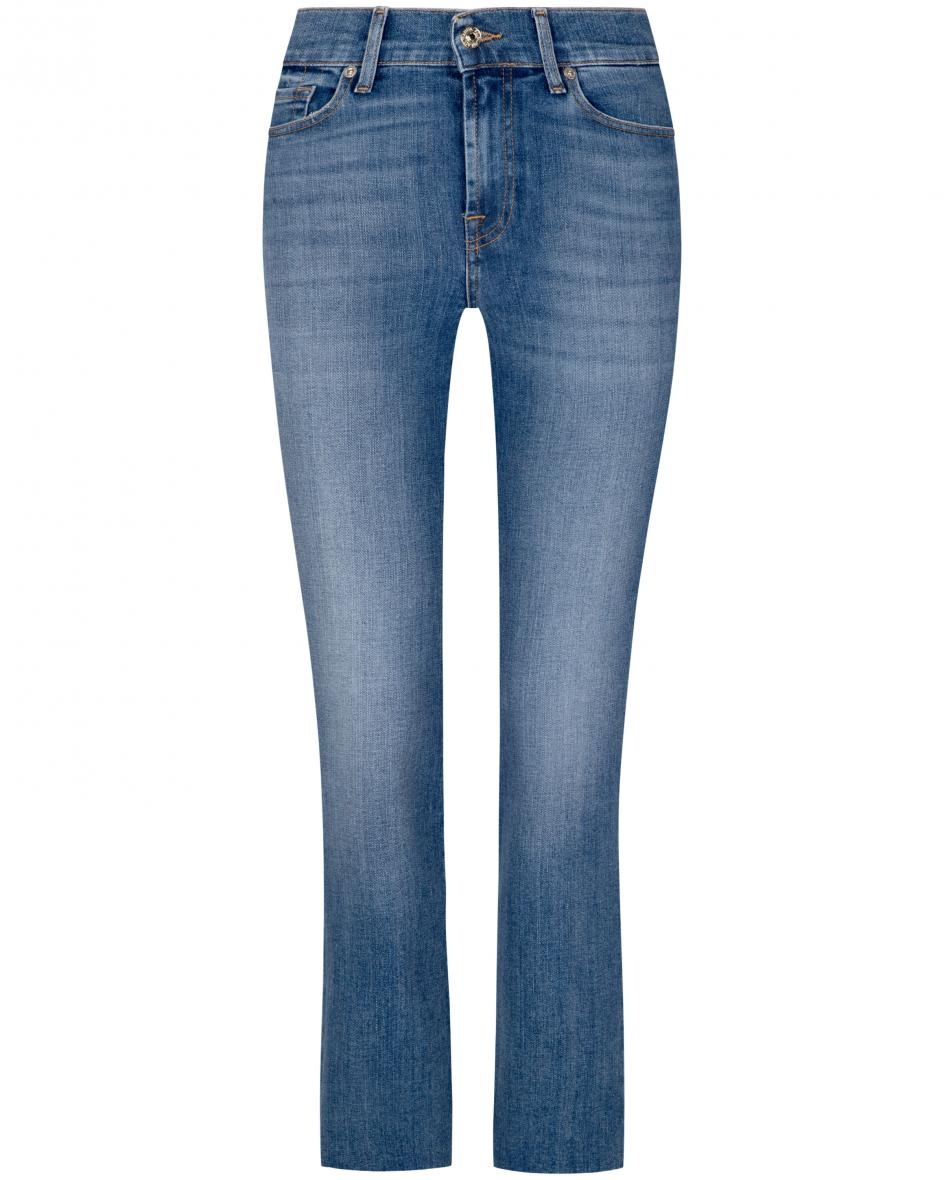 Hosen - 7 For All Mankind The Straight Jeans Crop  - Onlineshop Lodenfrey