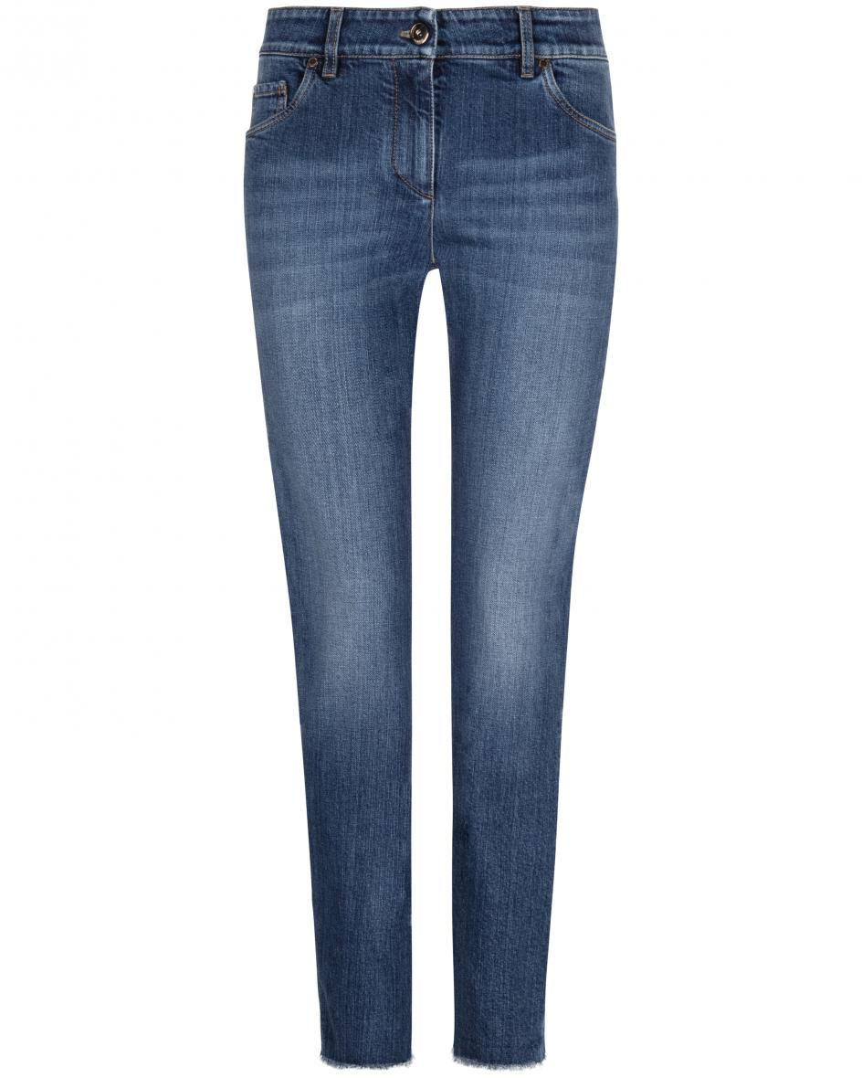Hosen - Brunello Cucinelli Extra Skinny Fit Jeans High Waist  - Onlineshop Lodenfrey