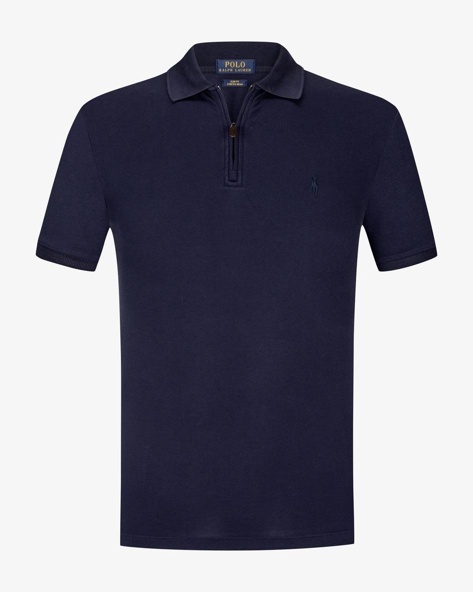 Polo-Shirt Slim Fit Stretch Mesh M