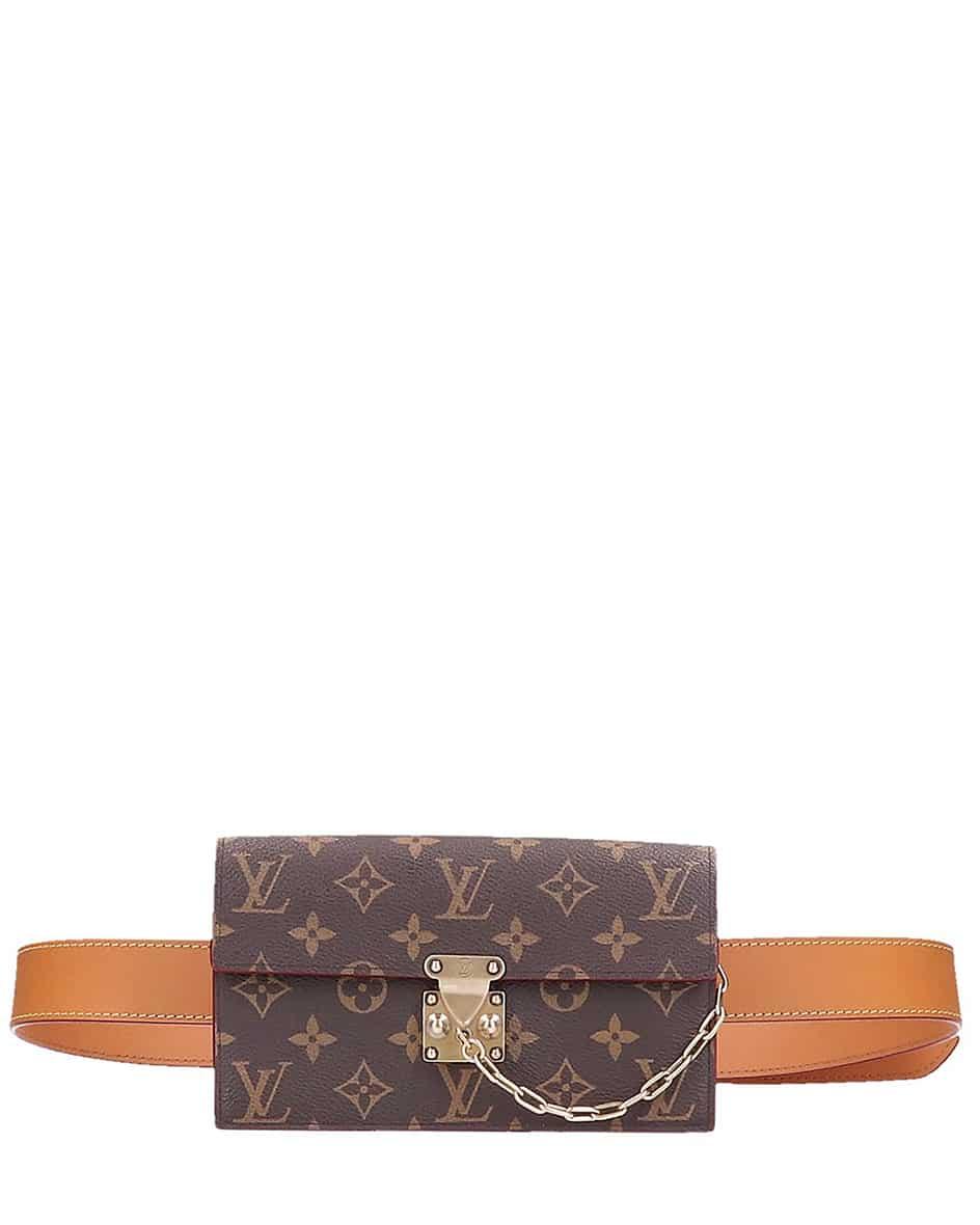 who is louis - Louis Vuitton S-Lock Belt Pouch Vintage Bauchtasche