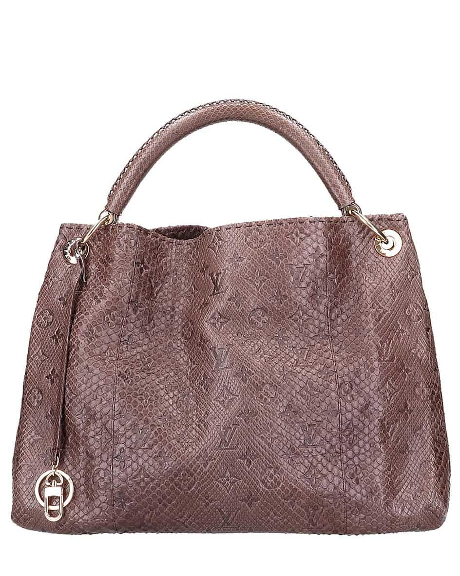 Louis Vuitton Artsy MM Embreinte Python Vintage Tasche Unisize