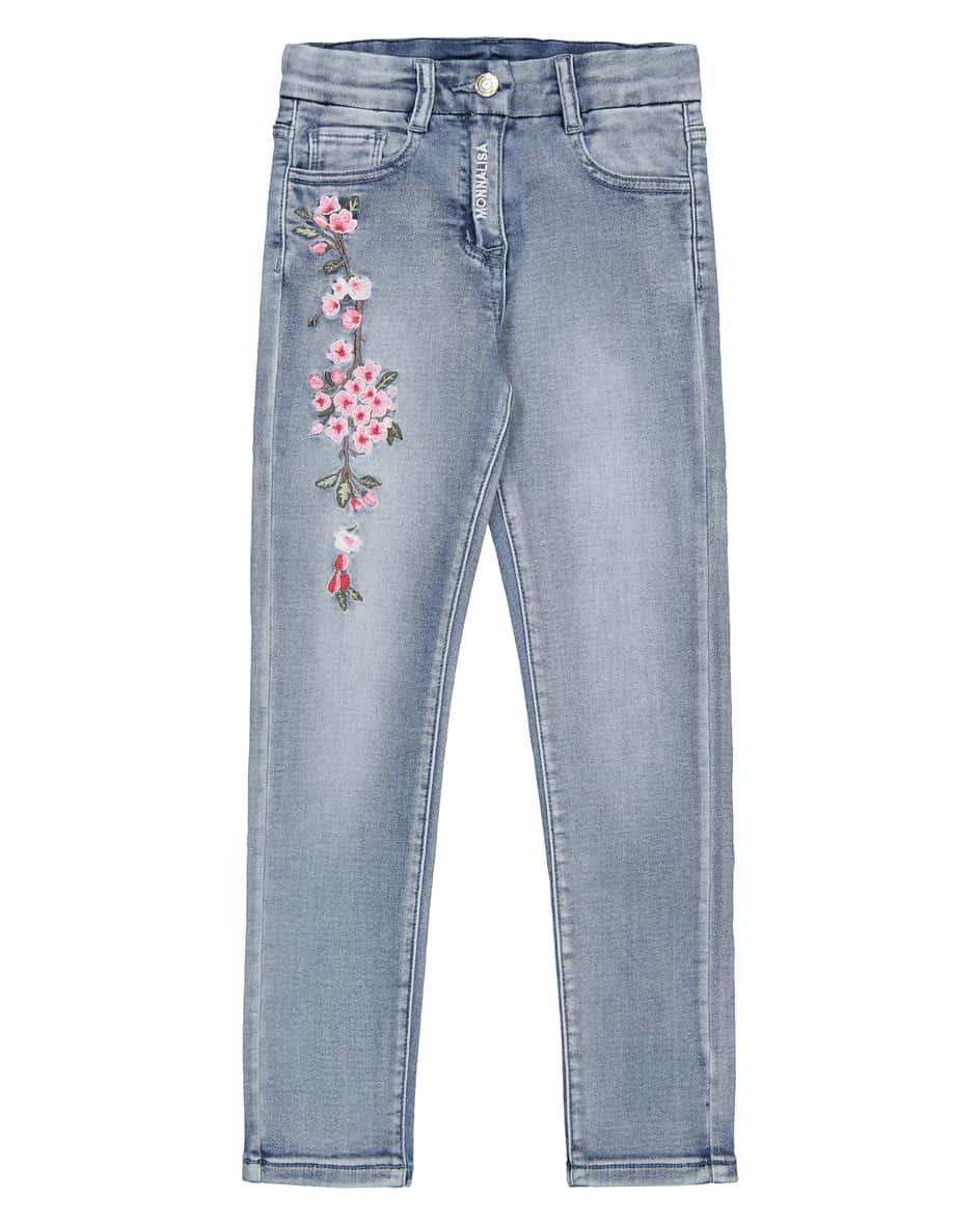 Mädchen-Jeans 140