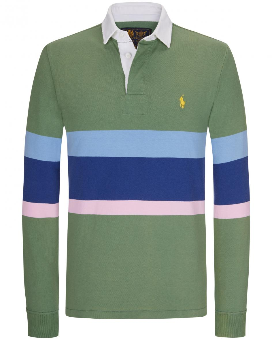Langarm-Polo Classic Fit M