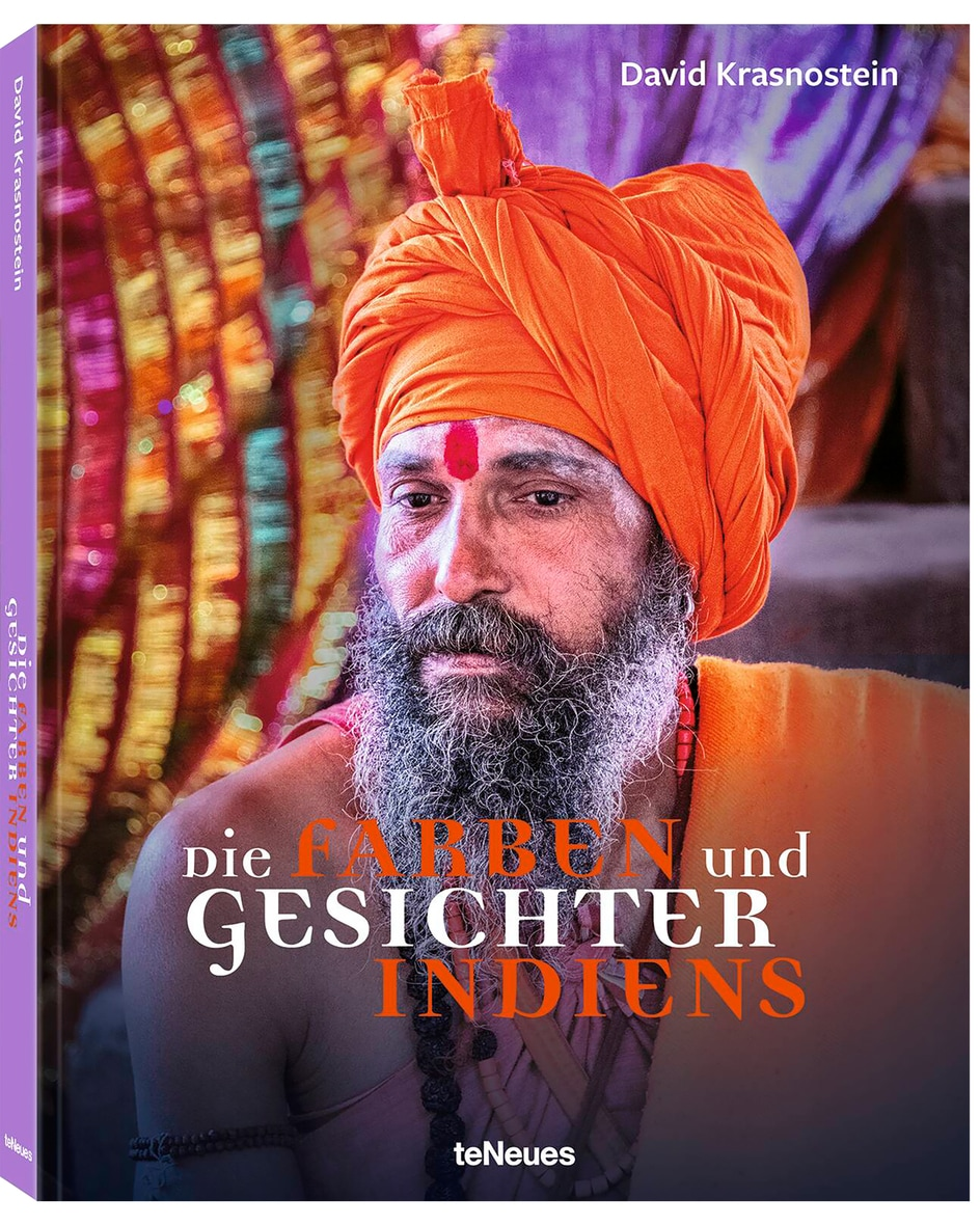 Die Farben und Gesichter Indiens Buch  Unisize