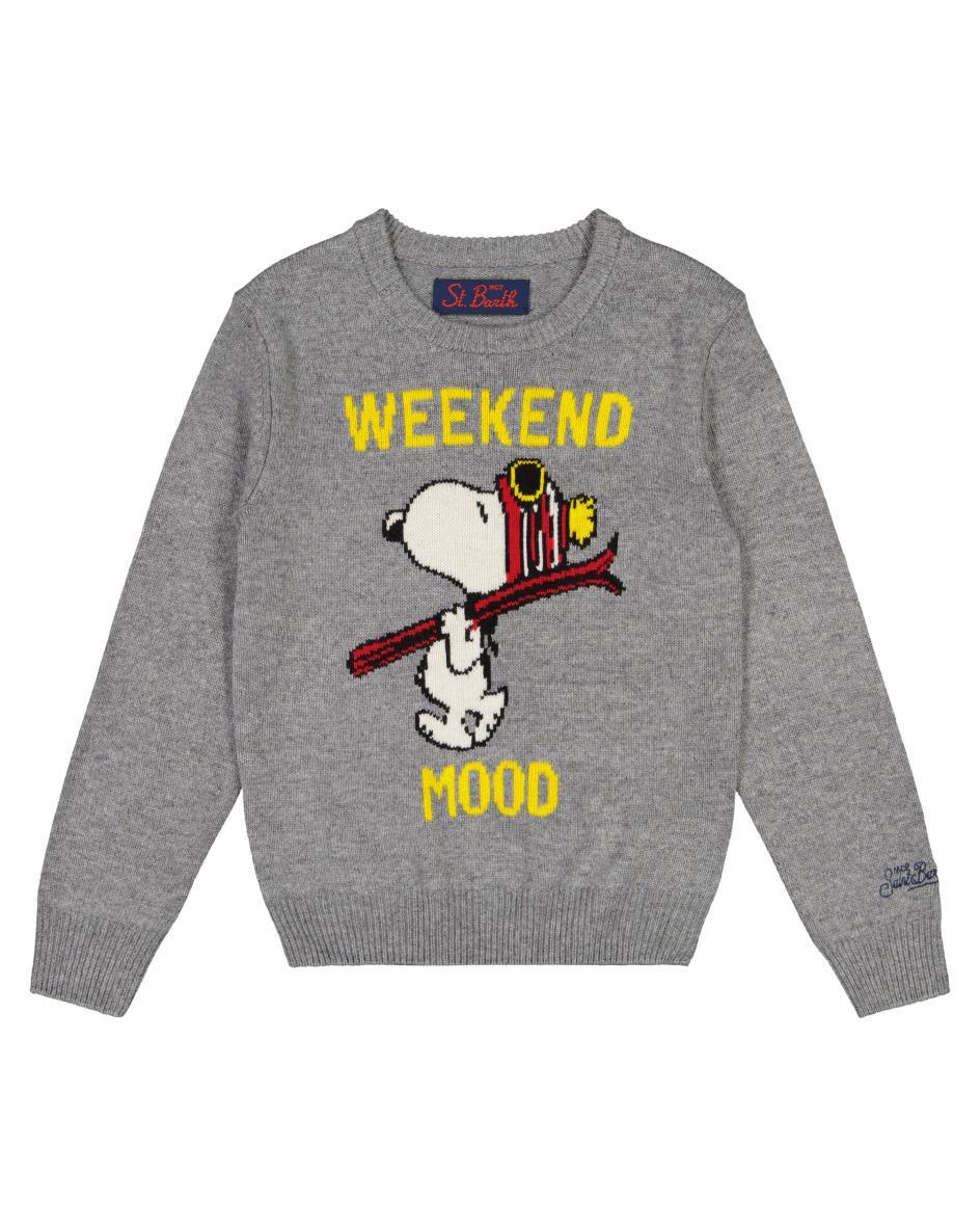 Douglas Snoopy Ski Kinder-Pullover 116