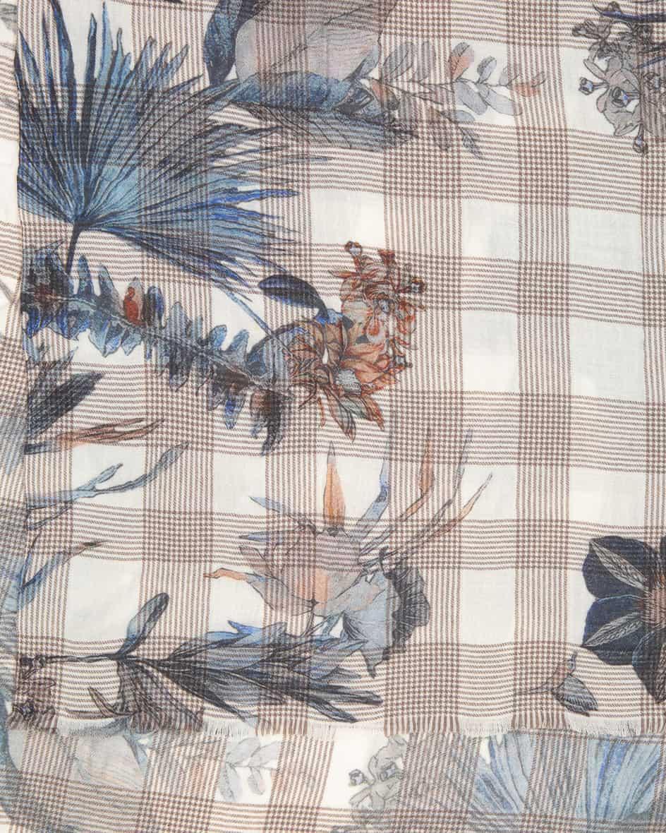 Galles Flower Cashmere-Schal Unisize