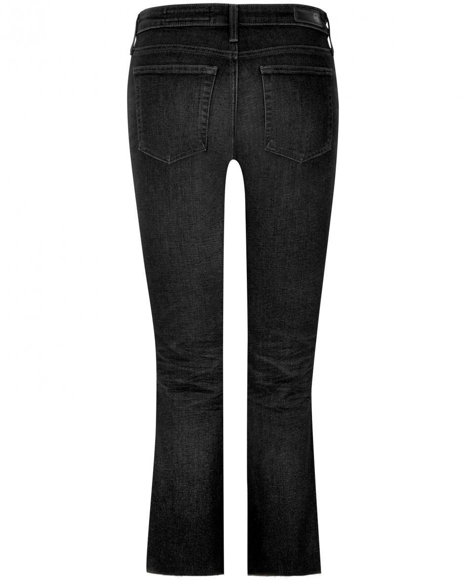 Jodi Jeans High-Rise Slim Flare Crop 28