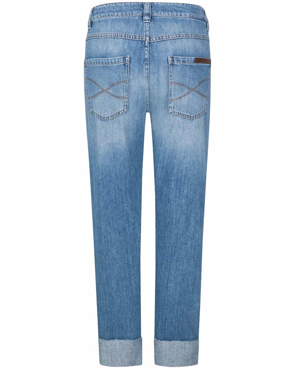 Straight Leg 7/8-Jeans Mid Rise  32