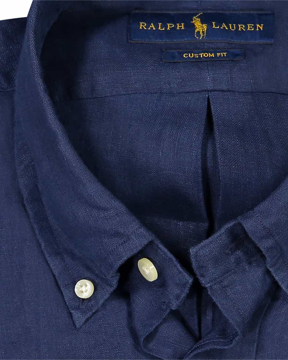 Leinenhemd Custom Fit S