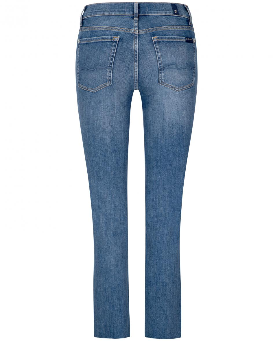 The Straight Jeans Crop