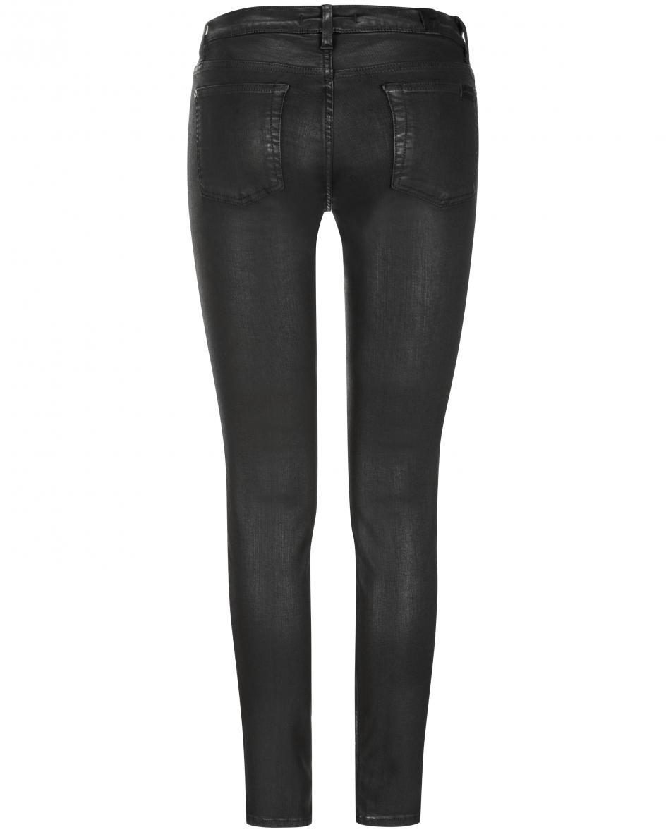 High Waist Jeans Skinny Crop 28