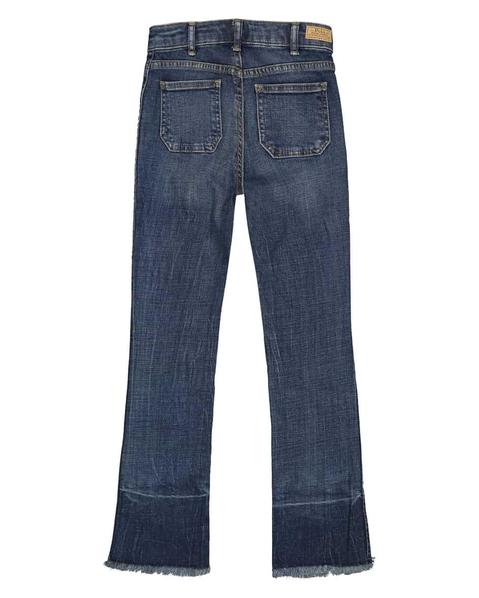 Mädchen-Jeans 110