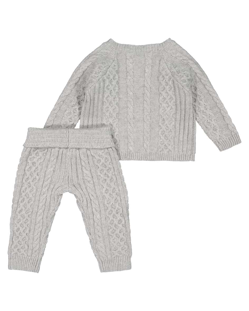 Baby-Strick-Anzug  80
