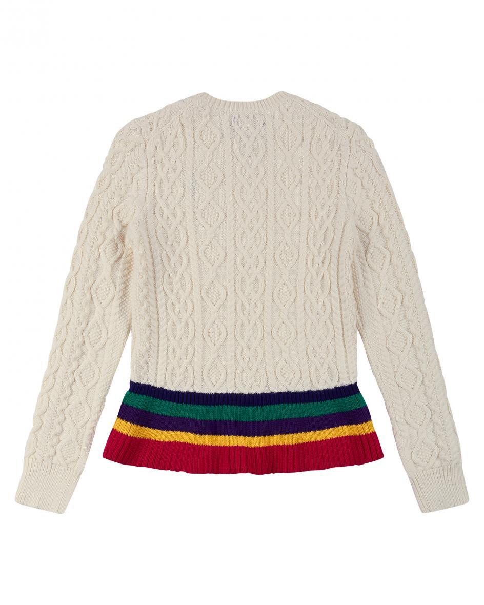 Mädchen-Pullover S