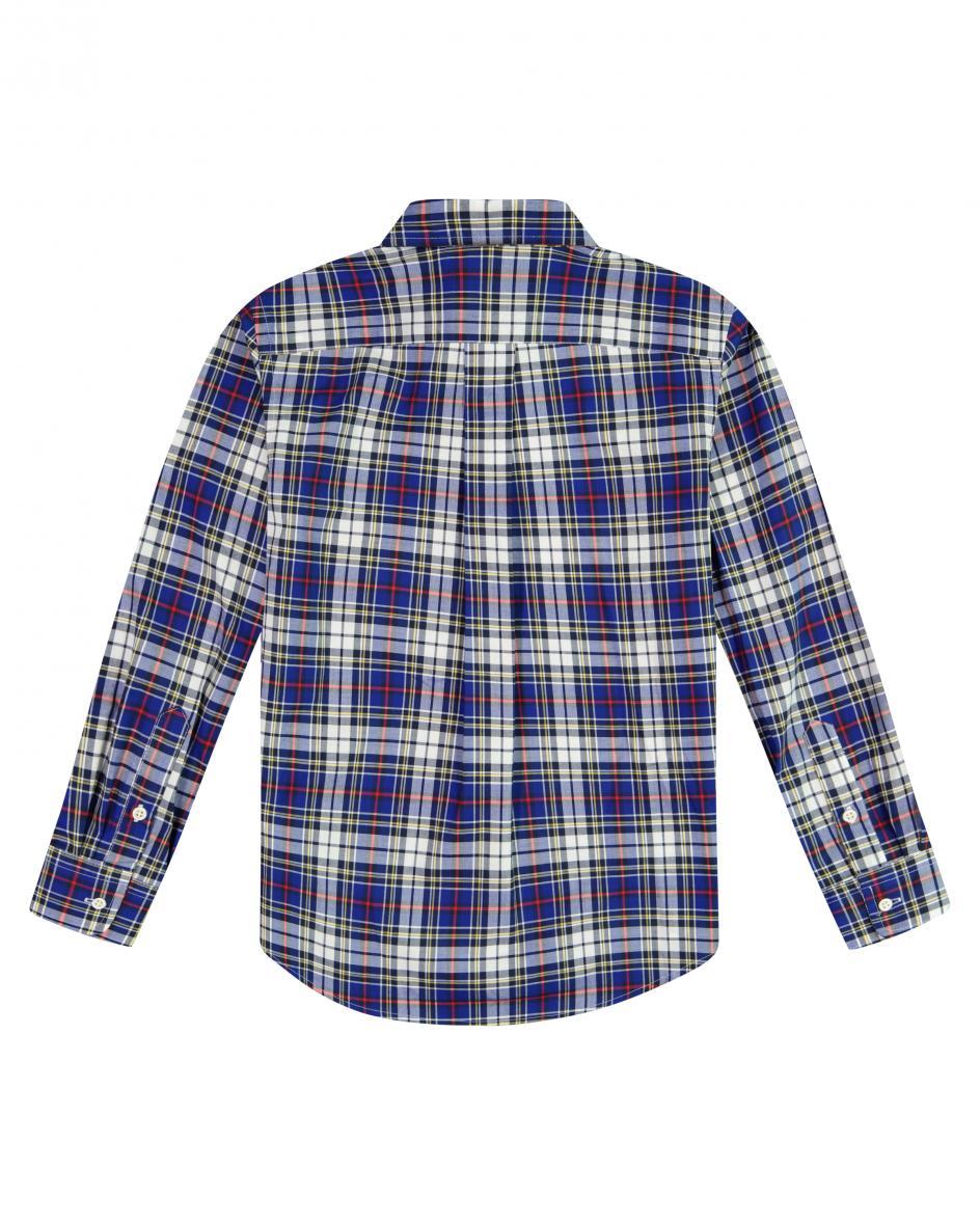 Jungen-Hemd Natural Stretch 4T