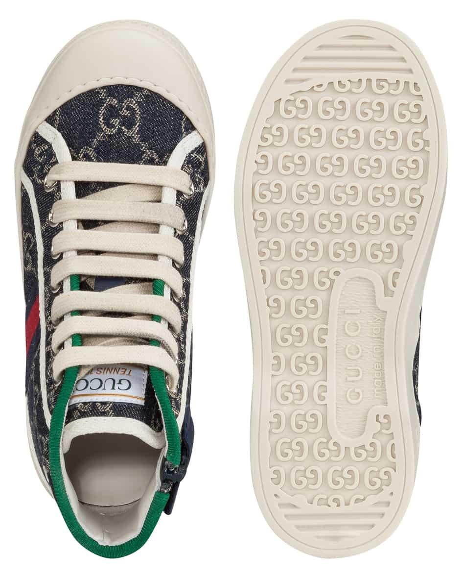 Mädchen-Hightop-Sneaker 32